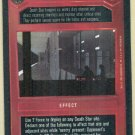 Star Wars CCG Death Star Sentry Uncommon Game Card