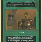 Star Wars CCG Droid Detector Premiere Limited Game Card