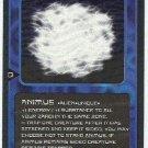 Doctor Who CCG Animus Rare Black Border Game Card