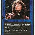 Doctor Who CCG Nyssa Rare Game Card Sarah Sutton