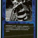 Doctor Who CCG Prapilus Rare Black Border Game Card