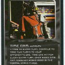 Doctor Who CCG Time Dam Rare Black Border Game Card