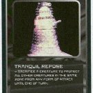 Doctor Who CCG Tranquil Repose Rare Game Trading Card