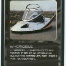 Doctor Who CCG Whomobile Rare Black Border Game Card
