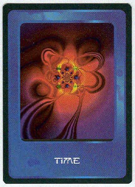 Doctor Who CCG Time Future Rare Black Border Game Card