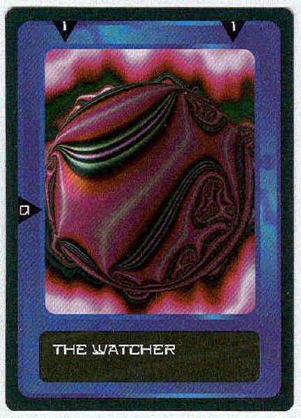 Doctor Who CCG Watcher Future Rare Black Border Card