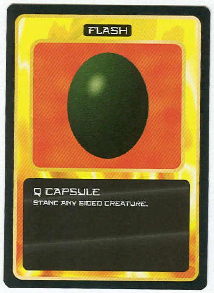 Doctor Who CCG Q Capsule Black Border Game Trading Card