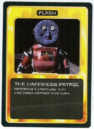Doctor Who CCG The Happiness Patrol Game Trading Card