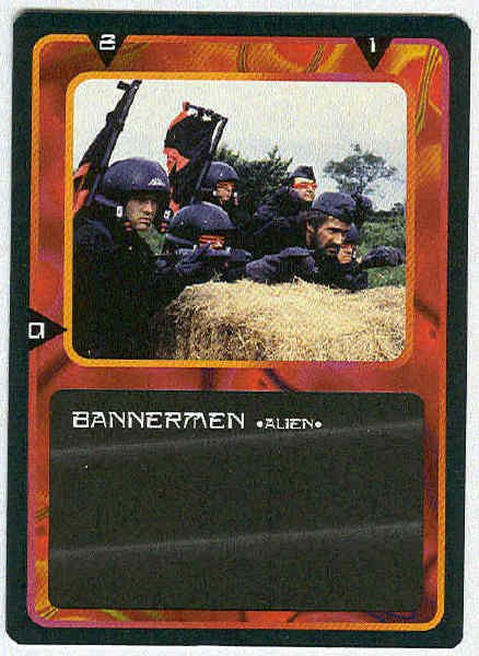 Doctor Who CCG Bannermen Black Border Game Trading Card