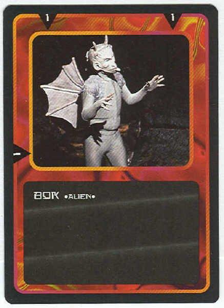 Doctor Who CCG Bok Black Border Game Trading Card