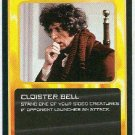 Doctor Who CCG Cloister Bell Black Border Game Card