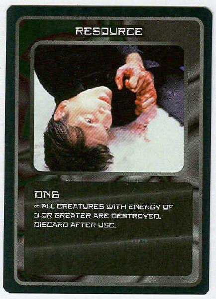 Doctor Who CCG DN6 Black Border Game Trading Card