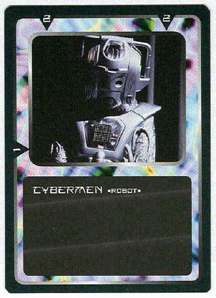 Doctor Who CCG Cybermen Black Border Game Trading Card
