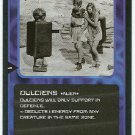 Doctor Who CCG Dulciens Black Border Game Trading Card