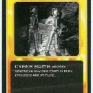 Doctor Who CCG Cyber Bomb Black Border Game Card