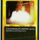 Doctor Who CCG Dalekenium Bomb Black Border Game Card