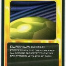 Doctor Who CCG Duranium Shield Black Border Game Card