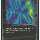 Doctor Who CCG Transduction Barriers Game Trading Card