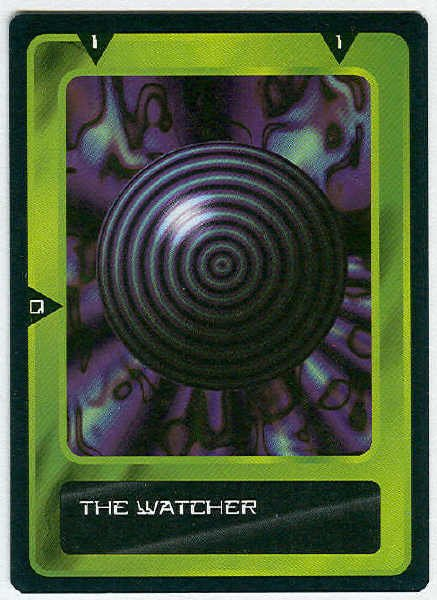 Doctor Who CCG The Watcher Past Game Trading Card (1)