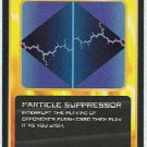 Doctor Who CCG Particle Suppressor Black Border Game Card