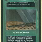 Star Wars CCG Assault Rifle Premiere Rare Game Card