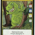 Neopets CCG Base Set #162 Green Grarrl Game Card