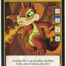Neopets CCG Base Set #168 Red Scorchio Game Card