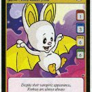 Neopets CCG Base Set #172 Yellow Korbat Game Card