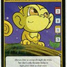 Neopets CCG Base Set #173 Yellow Mynci Game Card