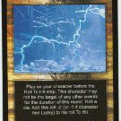Terminator CCG Divine Intervention Rare Game Card