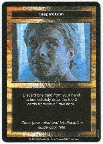 Terminator CCG Inspiration Precedence Rare Game Card