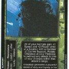 Terminator CCG Maj. Villalobos Precedence Rare Game Card