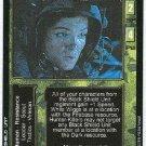 Terminator CCG Maj. Wiggs Precedence Rare Game Card