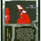 Terminator CCG Hypersonic Emitter Precedence Game Card