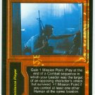 Terminator CCG Leading By Example Precedence Game Card