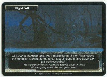 Terminator CCG Nightfall Precedence Game Card