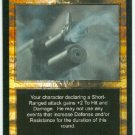 Terminator CCG Point Blank Precedence Game Card