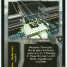Terminator CCG Skills Upgrade Medical Training Game Card