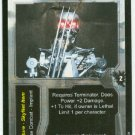 Terminator CCG Retractable Claws Precedence Game Card