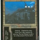 Terminator CCG Ruined Street Precedence Game Card