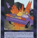 Illuminati Car Bomb New World Order Game Trading Card