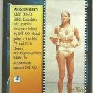James Bond CCG Honey Rider Uncommon Game Card