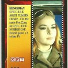 James Bond CCG Helga Brandt Uncommon Game Card