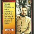 James Bond CCG Hugo Drax Uncommon Game Card