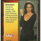 James Bond CCG Xenia Onatopp Game Card