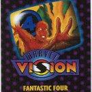Marvel Vision 1996 Fantastic Four Mini Magazine