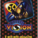 Marvel Vision 1996 X-Men Mini Magazine