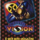 Marvel Vision 1996 X-Men Mini Magazine