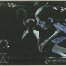 X-Files Season 3 #39 Parallel Card Silver Bar Xfiles