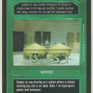 Star Wars CCG Fusion Generator Supply Tanks Premiere Limited Dark Side Card